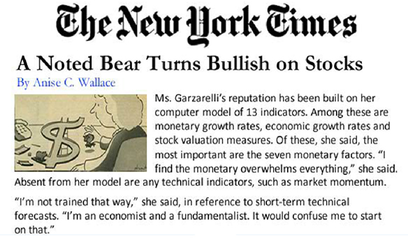 A noted bear turns bullish on stocks