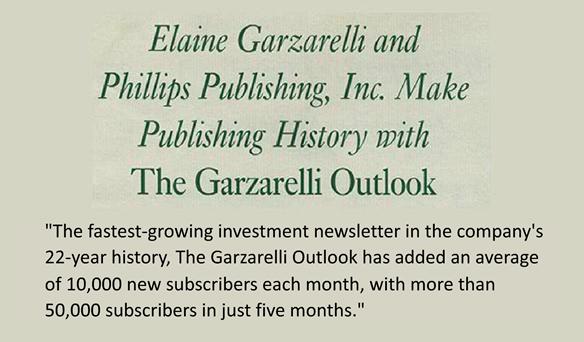 Elaine's Financial Newsletter Makes History