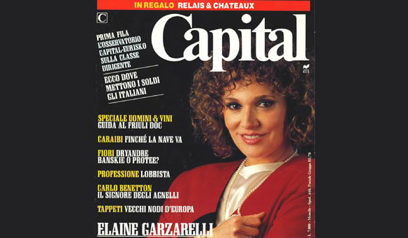 Italian Financial Coverage of Elaine Garzarelli