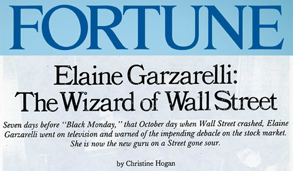 Elaine Garzarelli The Wizard of Wall Street