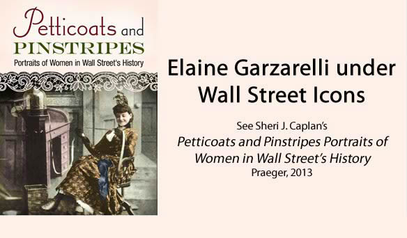 Elaine Garzarelli under Wall Street Icons