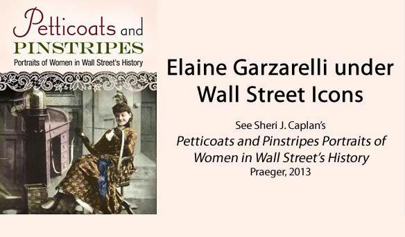 Elaine Garzarelli under Wall Street Icons