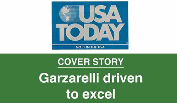 USA TODAY Garzarelli Driven to Succeed